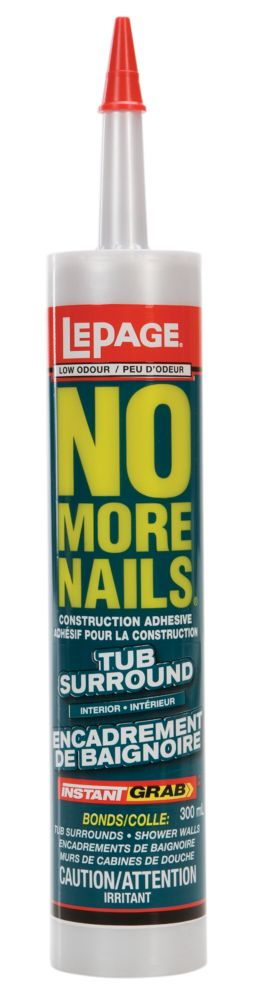No More Nails Tub Surround (300ml)
