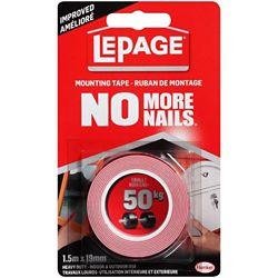 LePage No More Nails Ruban de Montage