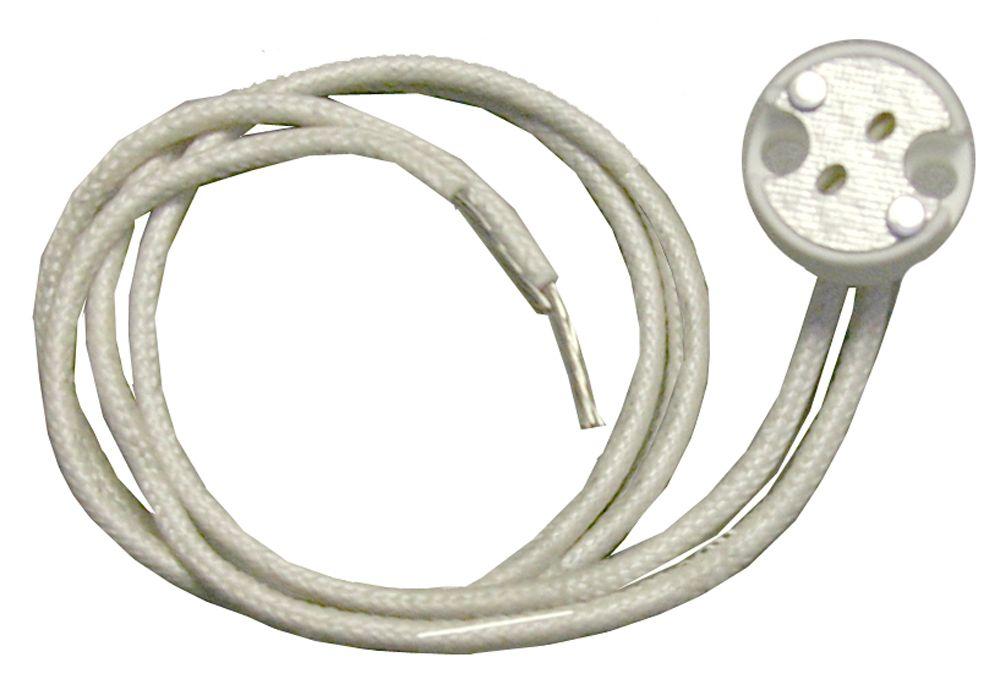 Round Halogen Socket