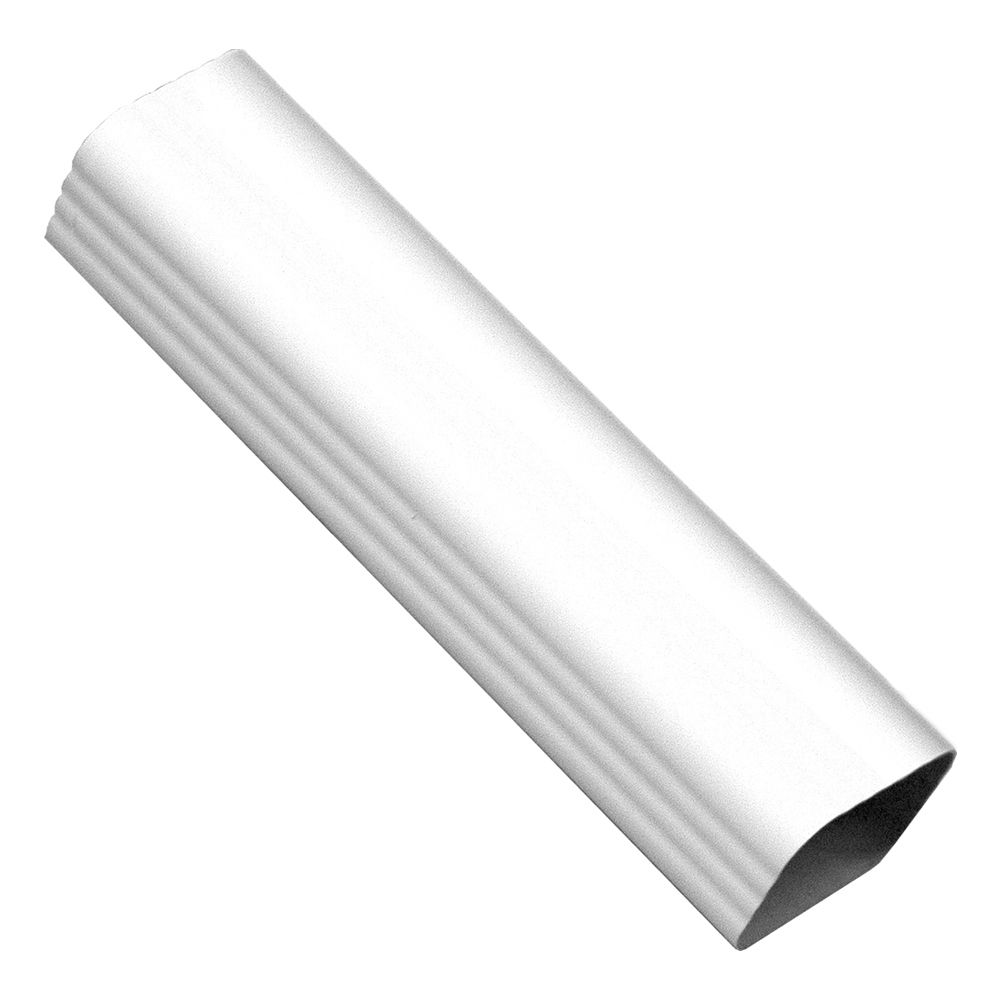 Downspout White