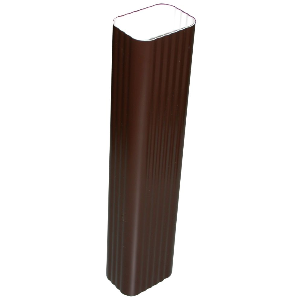 Euramax Canada Downspout Brown