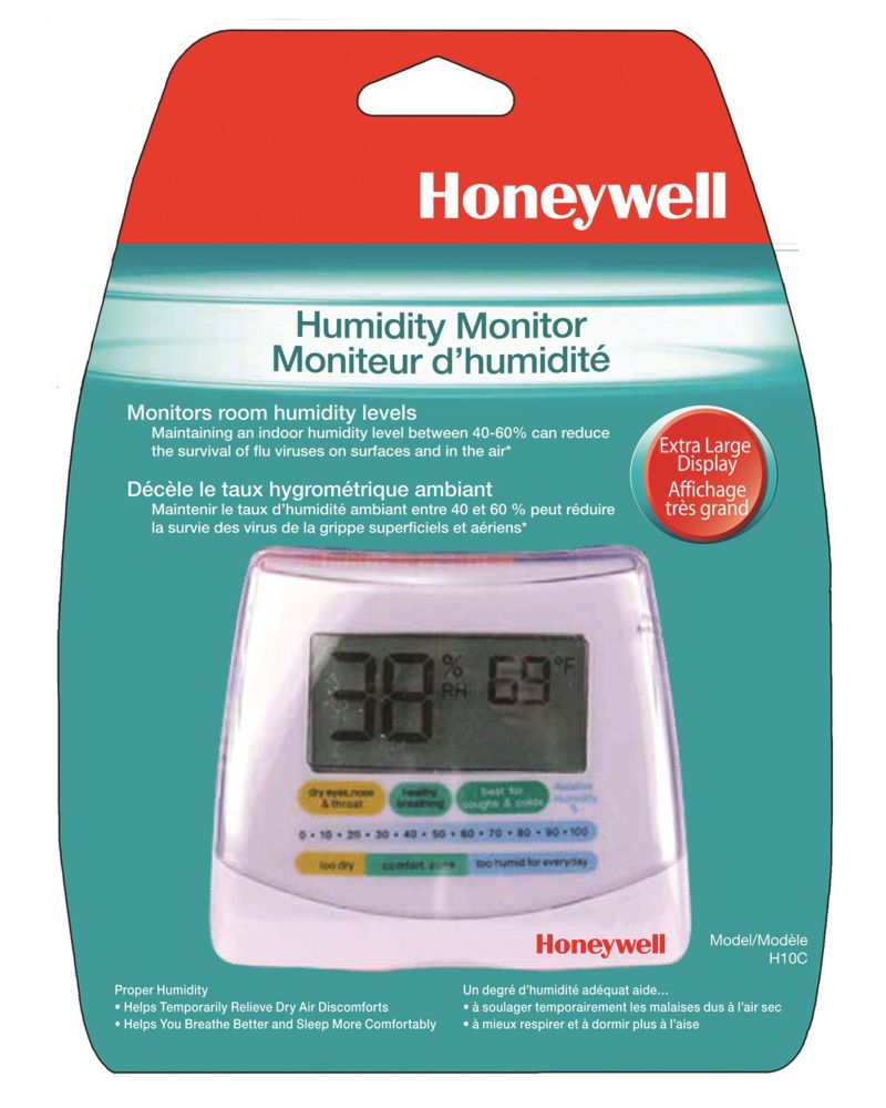 Home Depot Digital Humidity Indicator