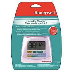 Indicateur numérique d'humidité et de température