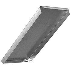 8x12 Inch Duct Cap Rectangular