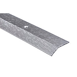 Shur Trim 1-1/2IN EQUALIZER - 12FT - HAMMERED TITANIUM