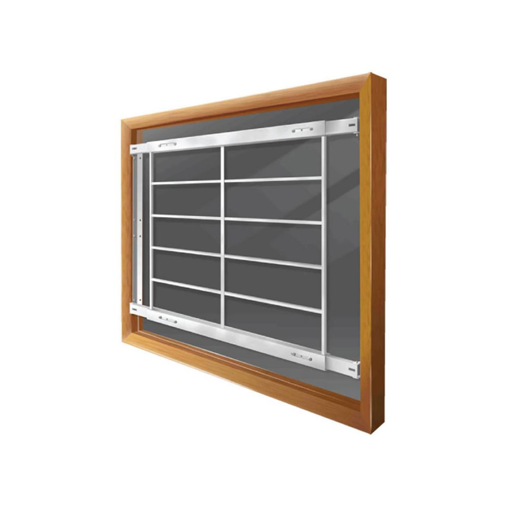 201 E 42-inch to 54-inch W Fixed Window Bar