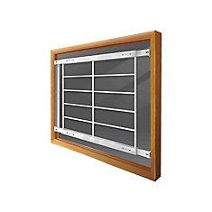 201 E 42-inch to 54-inch W Fixed Window Bar