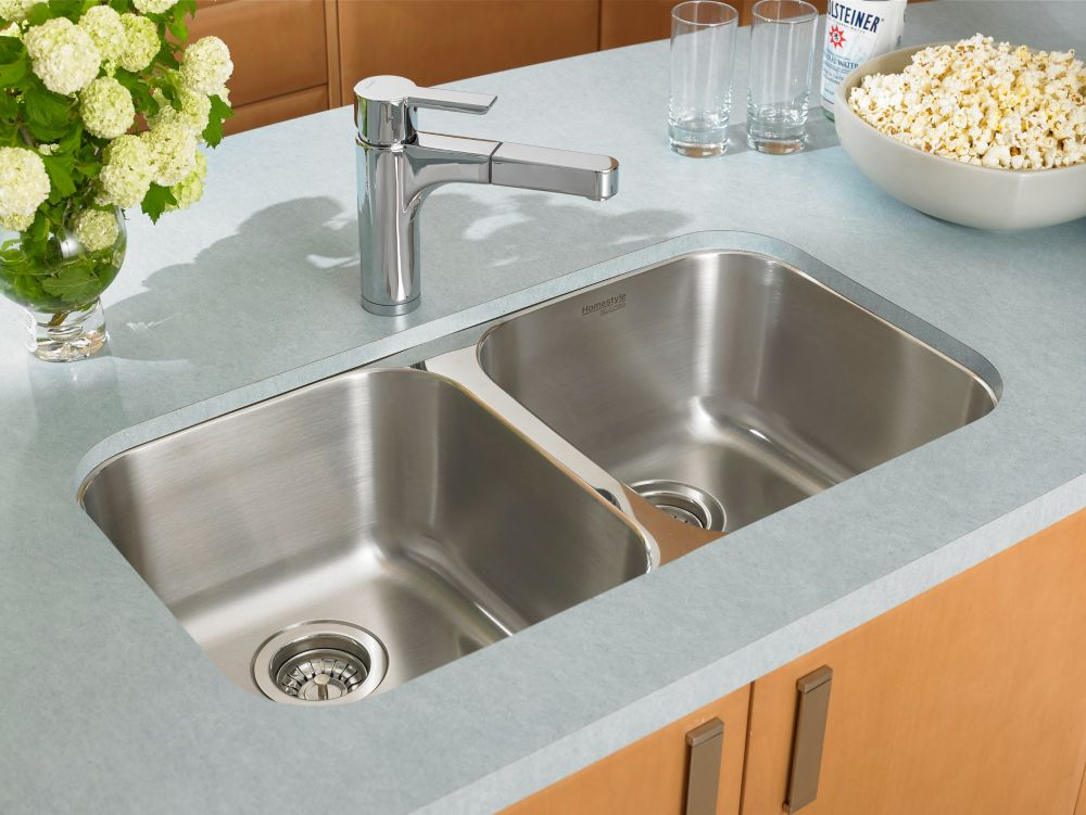 Homestyle 2.0 Undermount Stainless Steel Sink