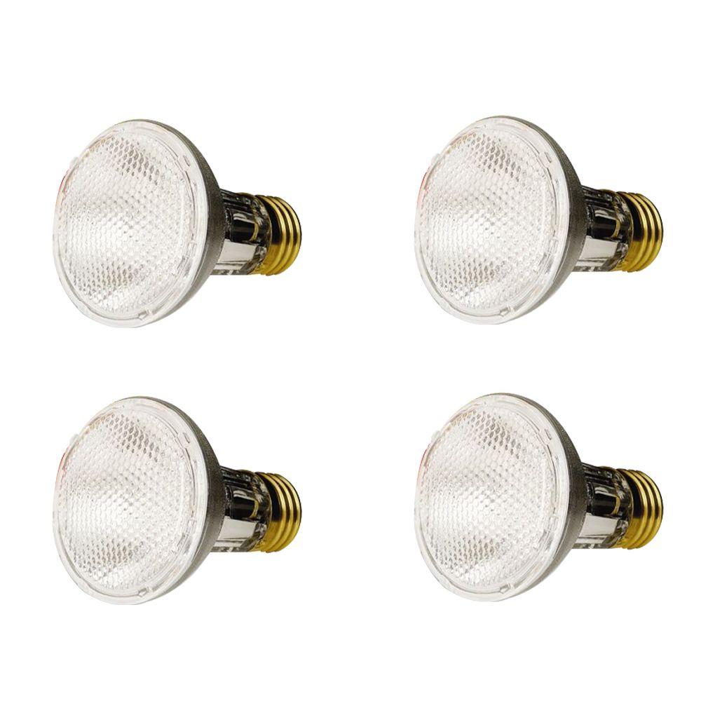50W PAR20 Halogen Flood 4 Pack
