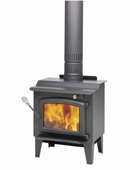 century s244 small epa wood stove the home depot canada. Black Bedroom Furniture Sets. Home Design Ideas