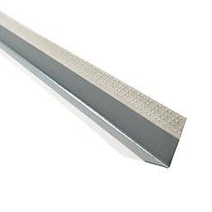 Paper-Faced Metal Outside Corner Bead, B1W 11/16 In. x 11/16 In. Even Leg, 9 Ft.