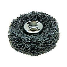 EZ Lock Coarse Grit and Medium Grit Finishing Abrasive Buffs (2 Pack)