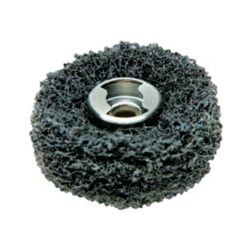 Dremel EZ Lock Coarse Grit and Medium Grit Finishing Abrasive Buffs (2-Pack)