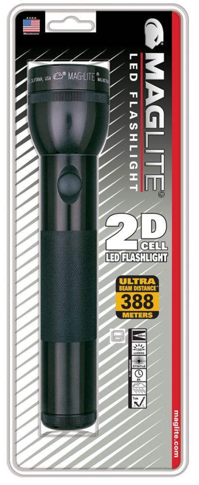 Maglite Maglite LED 2D Cell Flashlight - Black