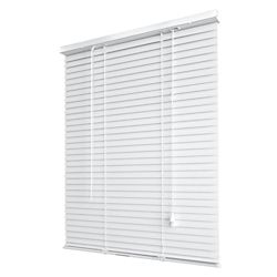 THD 1-inch Vinyl Mini Blinds 36-inch x 45-inch White