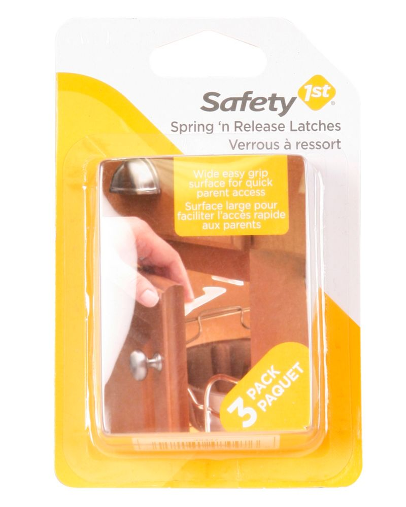 Spring And Release Latches