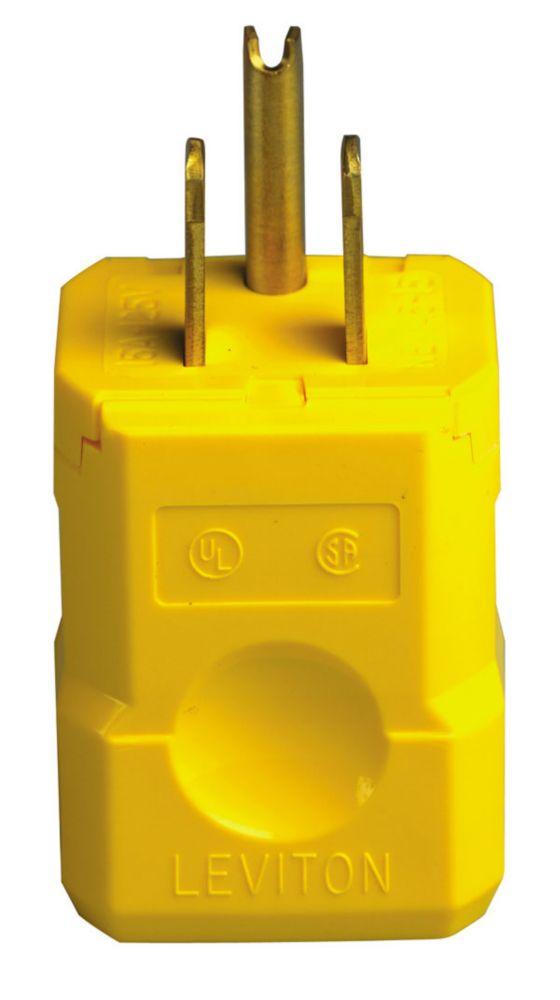 Leviton 15 Amp Python 125V Nylon Plug