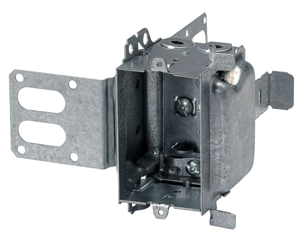 Iberville Device Box 2 1 In Bx Loomex Steel Stud The Home Depot Canada