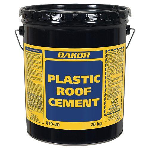 Bakor 810-20 Plastic Roofing Cement 20 kg