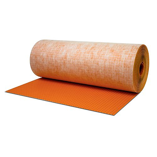 Schluter Ditra 3 ft. 3 inch x 45 ft 9 inch Tile Uncoupling Membrane (150 Sq. Ft. / Roll)