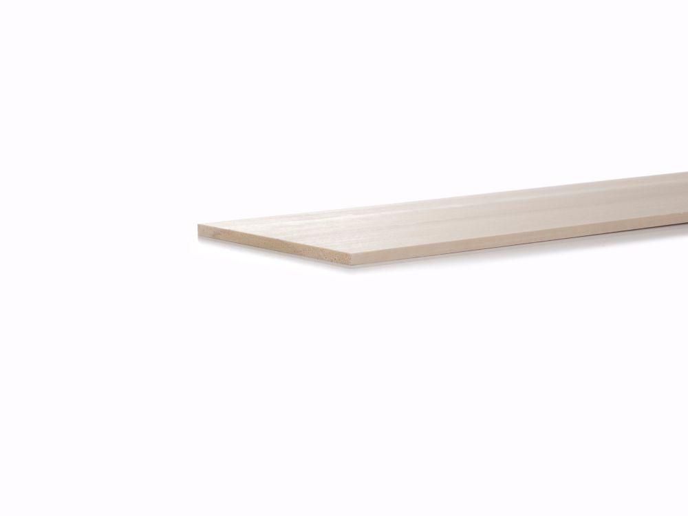 Poplar Craft S4S 1/4x6x4 Feet