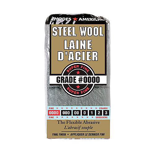 Rhodes American #4/0 12 Pad Steel Wool | The Home Depot Canada