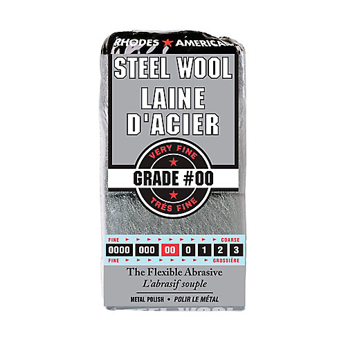 Rhodes American #2/0 12 Pad Steel Wool | The Home Depot Canada