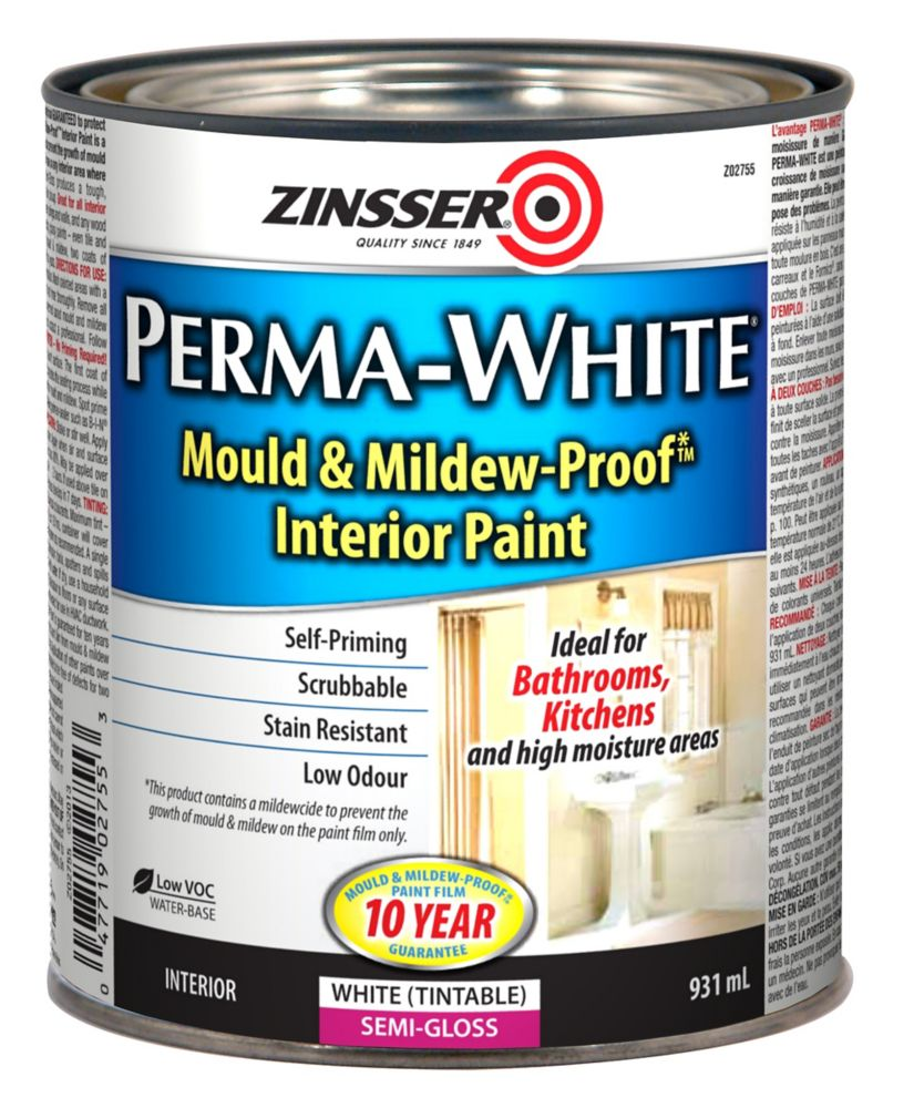 Cil Premium Exterior Semi Gloss White Base 3 7 L In Canada