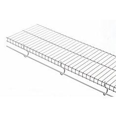 Étagère Freeslide De 16 Po X 8 Pi – Blanc