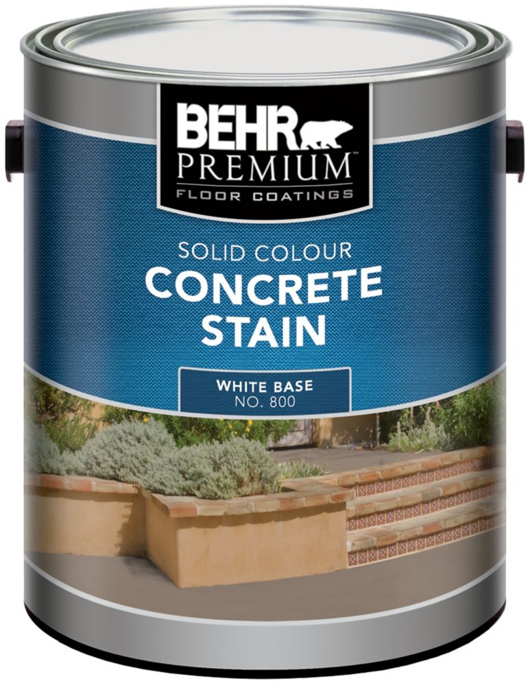 BEHR Solid Colour Concrete Stain, 3.67L