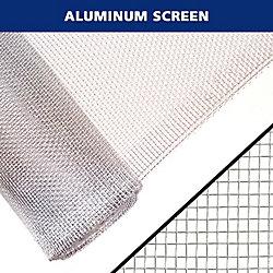 Everbilt 36 po x 40 po Moustiquaire en aluminium