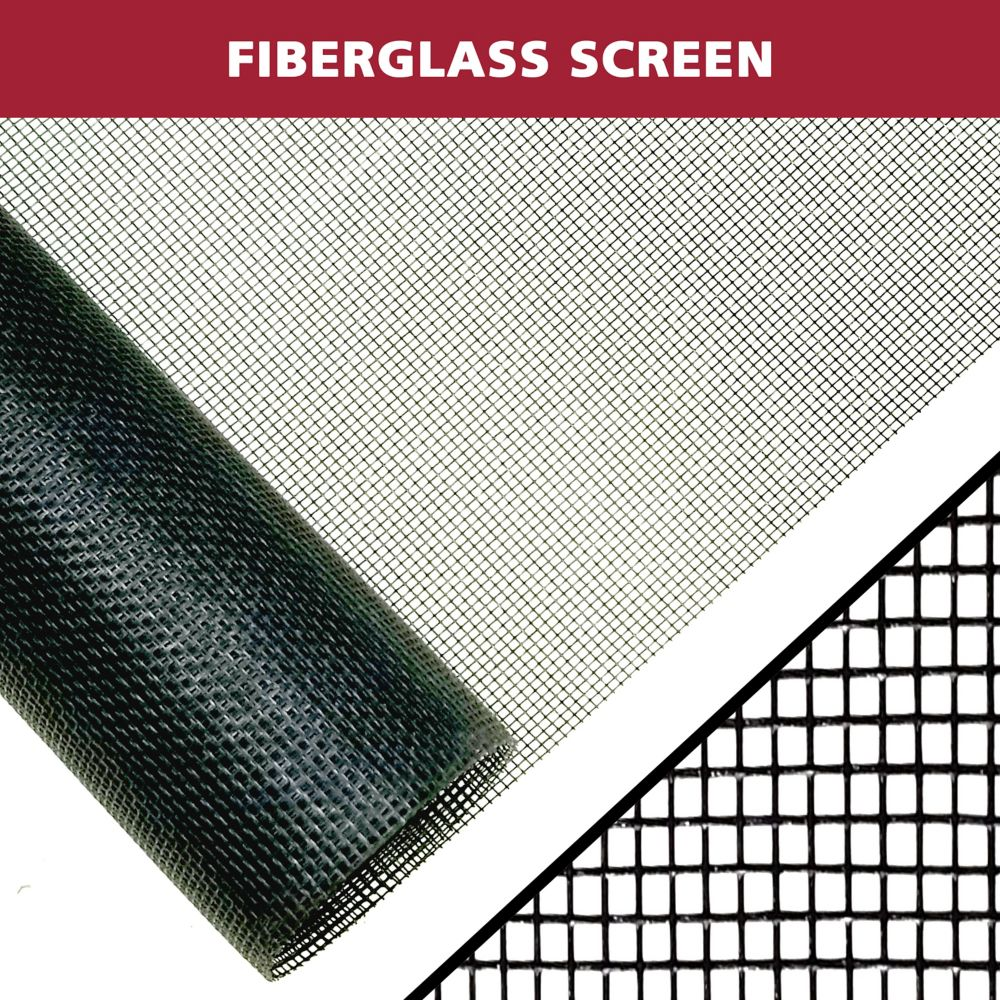 Everbilt 48-inch X 25 ft. Black fibreglass Screen