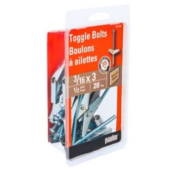 Paulin 3/16X3 Toggle Bolts