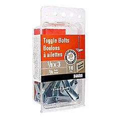 1/8X3 Toggle Bolts