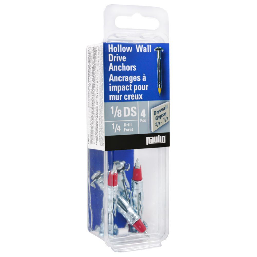 1/8Ds Hollow Wall Anchors