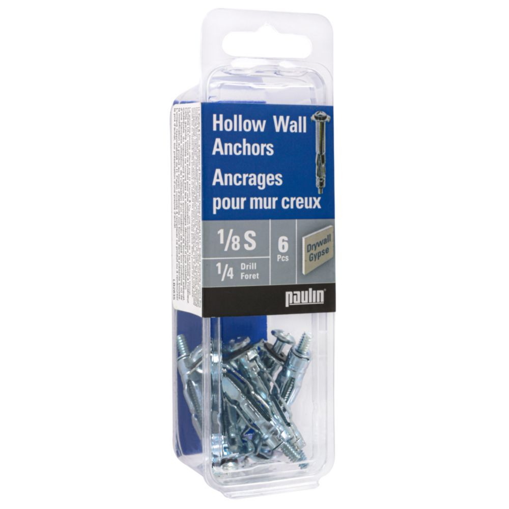Papc 1/8S Hollow Wall Anchors 843-462 in Canada