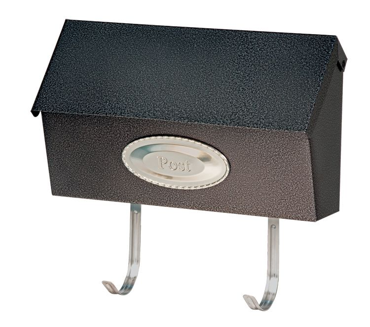 Swedish Mailbox Black Granit