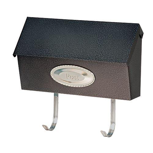 DMP Swedish Mailbox Black Granit