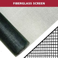 Everbilt 48-inch X 100 ft. Black fiberglass Screen