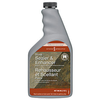 Custom Building Products Stonespecific Stone Enhancer Sealer The Home Depot Canada