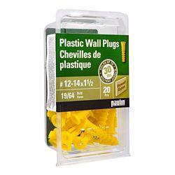 Paulin 12-14 X1 1/2 Plastic Anchors