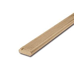 Alexandria Moulding Oak Shoe Rail & Fillet 3/4 In. x 2-1/4 In. x 8 Ft.