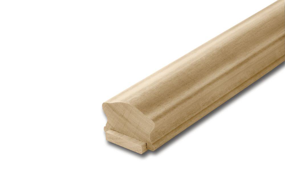 Paint Grade Handrail & Fillet 1-5/8 In. x 2-1/2 In. x 6 Ft.