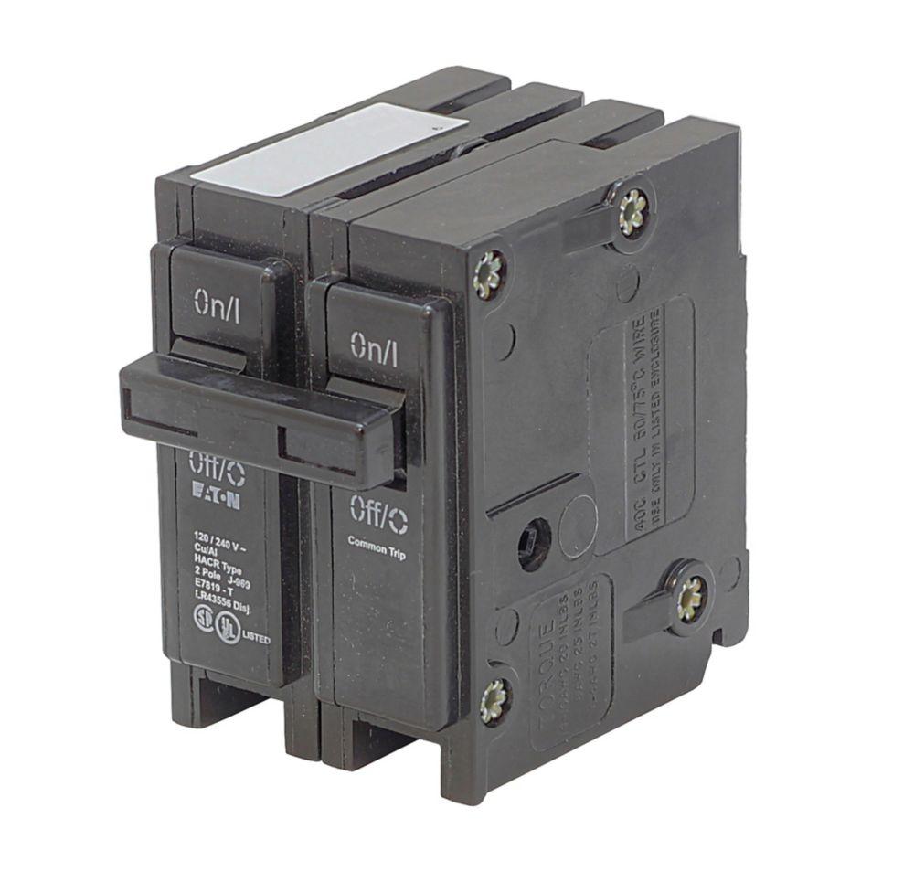 Type BR, disjoncteur de replacement enfichable - 2P 30A