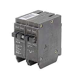 Eaton Plug-In Duplex/Quad Replacement Breaker - 2-1P 15A & 1-2P 40A