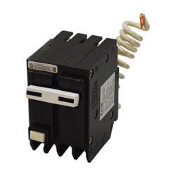 Eaton Disjoncteur GFCI à 2 pôles de type BR de 40 A avec auto-évaluation