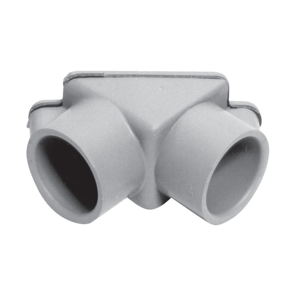 Schedule 40 PVC Pull Elbow � 1/2 Inch