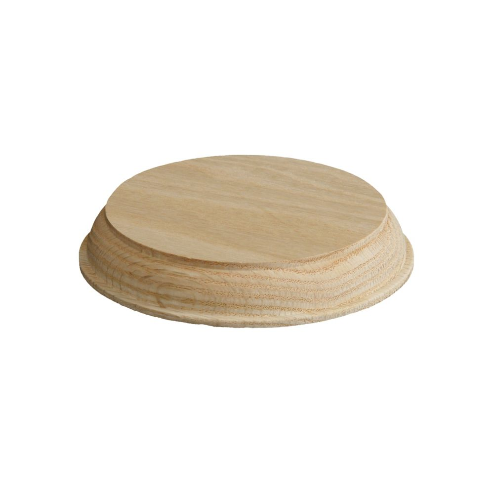 Oak Wall Mount Disk 7/8 In. x 4-13/16 In.