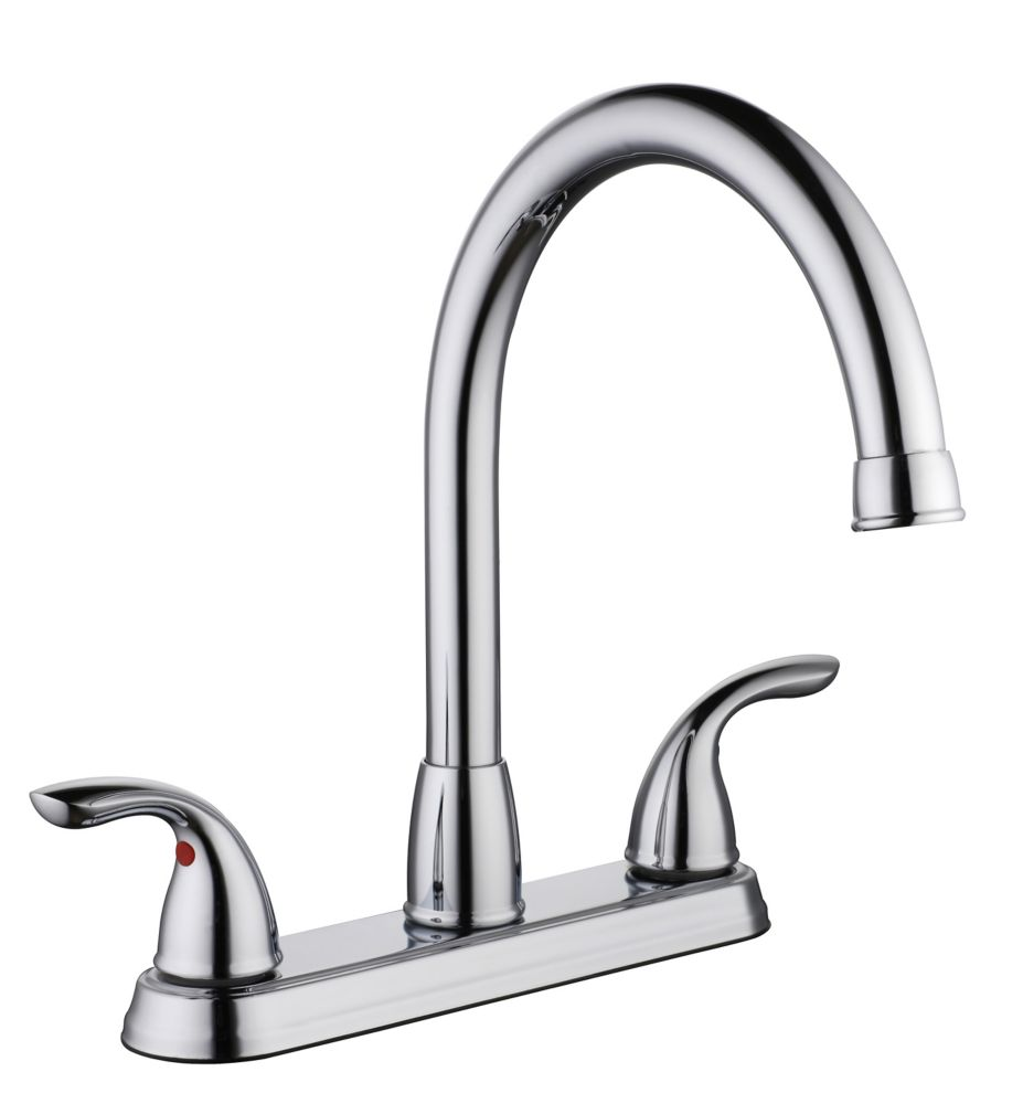 Glacier Bay 3000 Series Hi Arc Kitchen Faucet Chrome