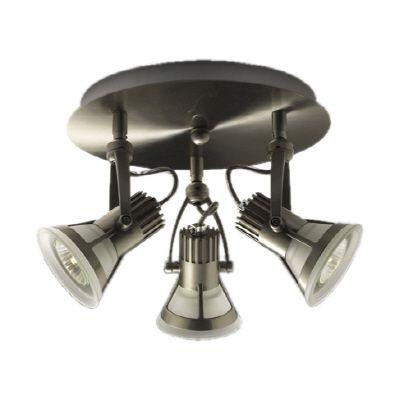 Plafonnier à 3 lumières, Collection Vortex